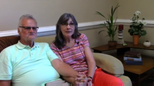 Video testimonial Edna and Michael
