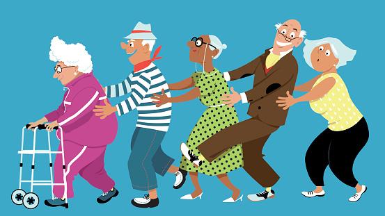 Senior Centers:  Masters in Aging
