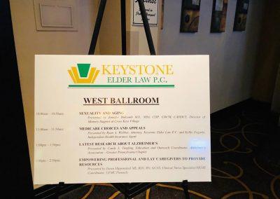Partial Breakout session schedule