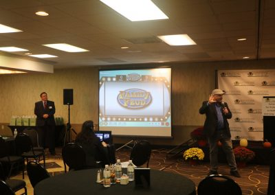 "Symposium wrap-up:  ""Family Feud"" with WHP radio personality Michael Parks"